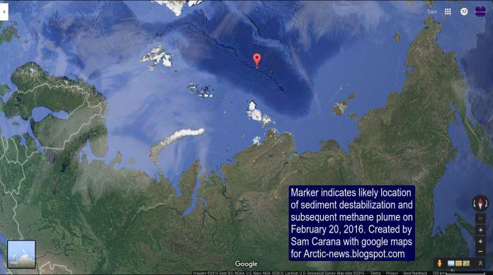 Desestabilização de hidratos de metano Cordilheira de Gakkel